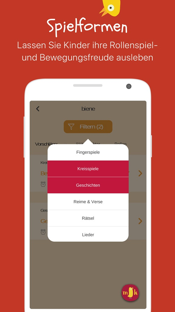 Morgenkreis app die ideenspritze f r ihren kita morgenkreis - Android app ideen ...