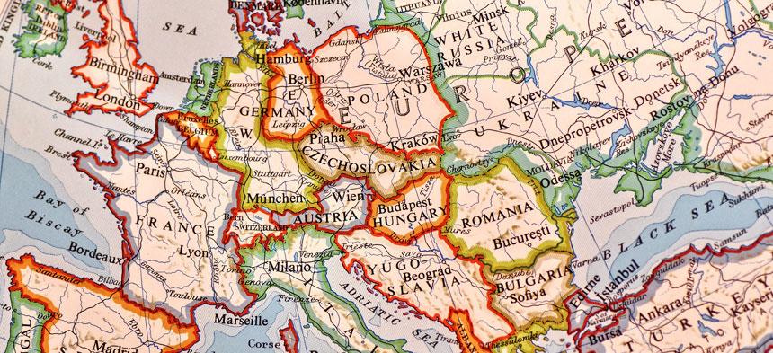 2 Weltkrieg Karte.Europa Nach Dem 2 Weltkrieg Herder De