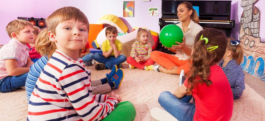 Der Morgenkreis Im Kindergarten Herderde