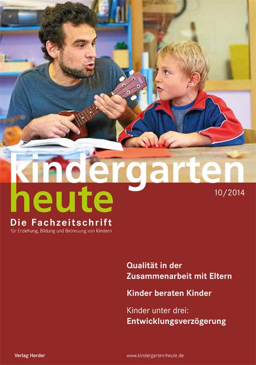 kindergarten heute das fachmagazin f r fr hp dagogik. Black Bedroom Furniture Sets. Home Design Ideas