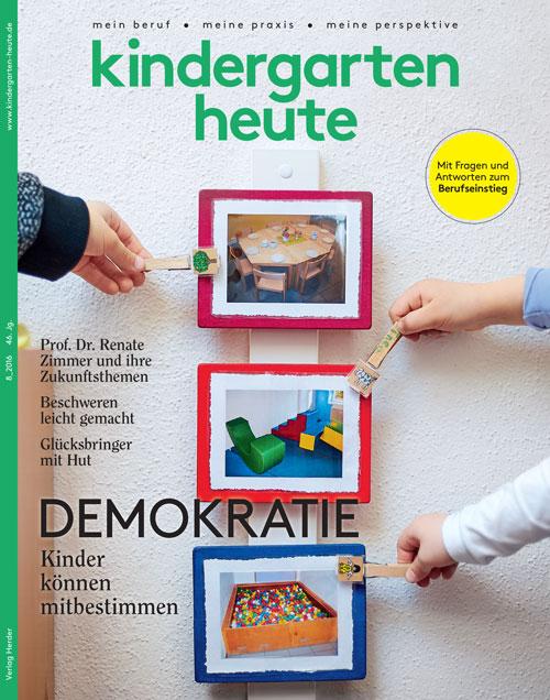 kindergarten heute das fachmagazin f r fr hp dagogik 8. Black Bedroom Furniture Sets. Home Design Ideas