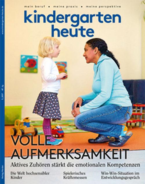 kindergarten heute das fachmagazin f r fr hp dagogik 3. Black Bedroom Furniture Sets. Home Design Ideas