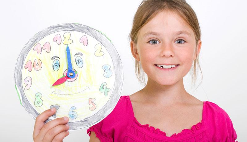 Wie Kinder Die Uhr Lesen Lernen Alles Hat Seine Zeit Kizz
