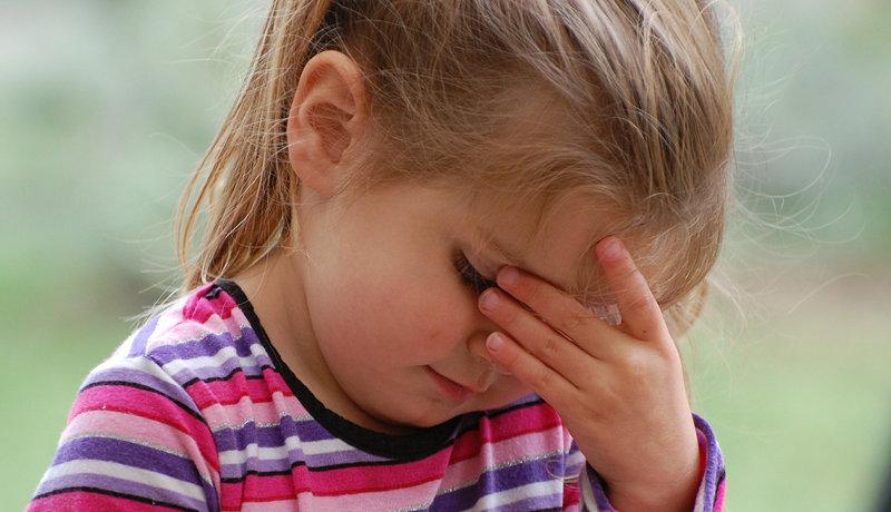 Kopfschmerzen vom weinen