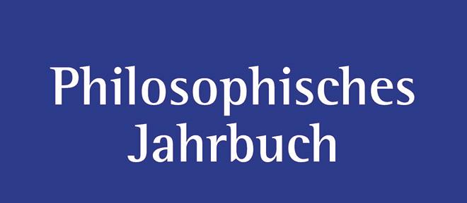 Philosophisches Jahrbuch