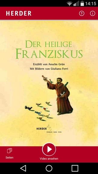Der heilige Franziskus 1