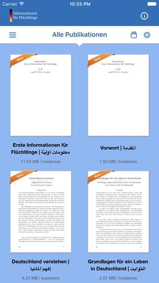 Deutschland - Erste Informationen für Flüchtlinge 1
