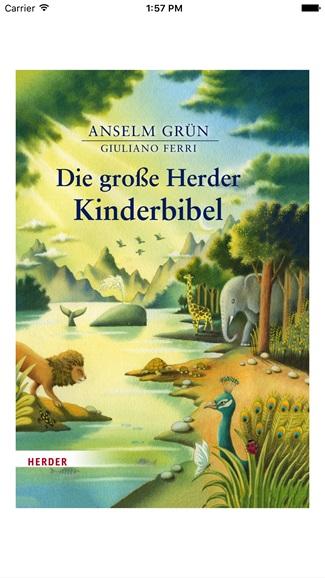 Die große Herder Kinderbibel 1