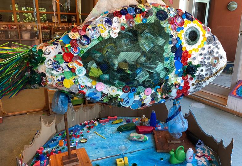 Kein Plastik mehr im Meer. Kinder suchen sich Verbündete im Kampf gegen die Verschmutzung der Erde