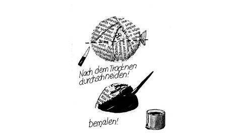 basteln-mit-kleisterballons-eleganter-sonnenhut
