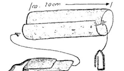 Basteln mit Tonkarton: Fliegende Feuerdrachen 1