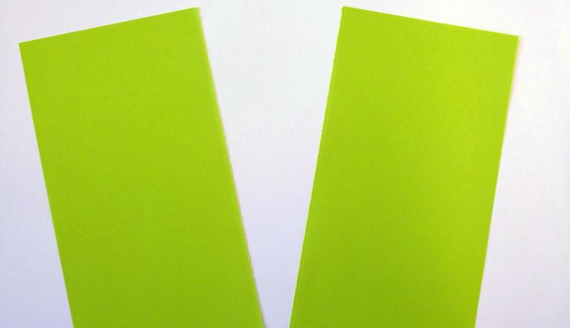Faltanleitung: Wetterfrosch aus Papier, Schritt 2