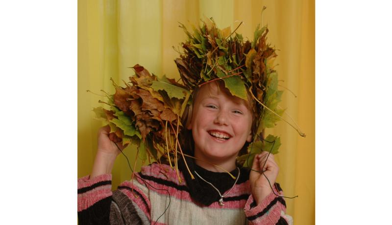Ketten aus Naturmaterialien : Herbstlicher Schmuck 2