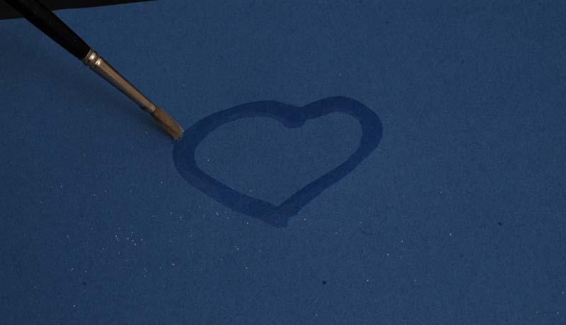 Malen mit Sand: (Un-)vergängliche Spuren auf Papier 1
