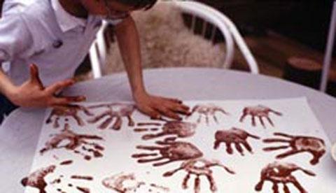 Naturfarben selbst herstellen: Steinzeitmalerei