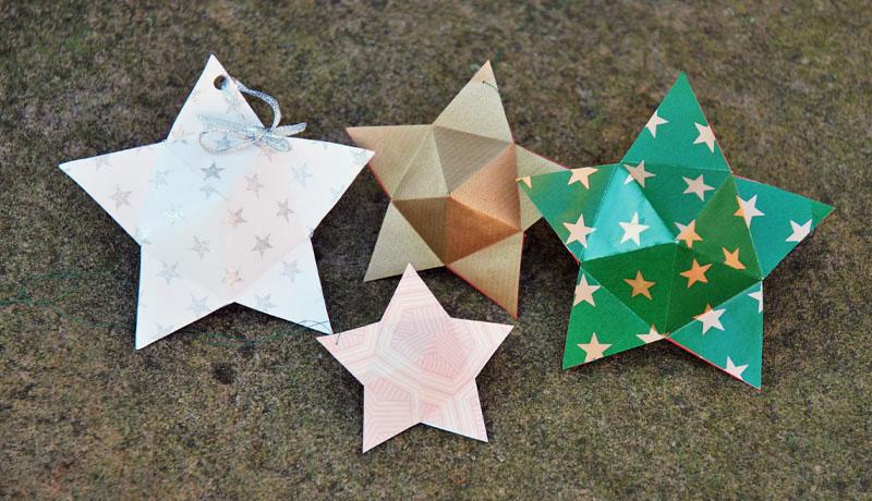 Basteln mit Kindern: Sternenzauber
