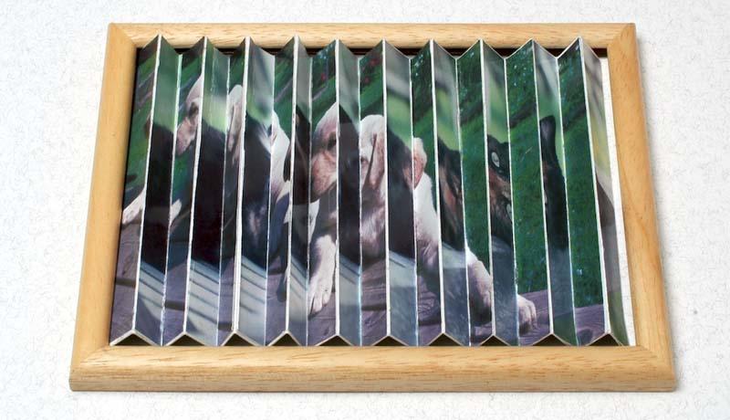 Ziehharmonika-Bilder: Ein Rahmen - zwei Fotos 3