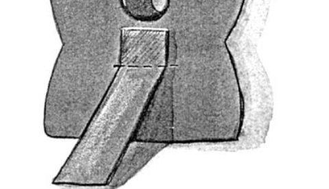 Zielfigur aus Karton: Karl, der Kirschkernschlucker 3