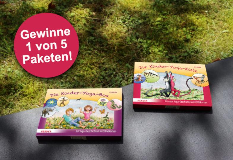 Herder-Gewinnspiel: Kinder-Yoga-Paket