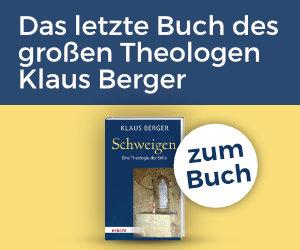 Anzeige: Schweigen von Klaus Berger