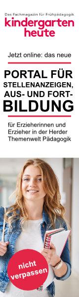 Anzeige: Herder Pädagogik Jobportal