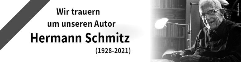Nachruf auf Hermann Schmitz