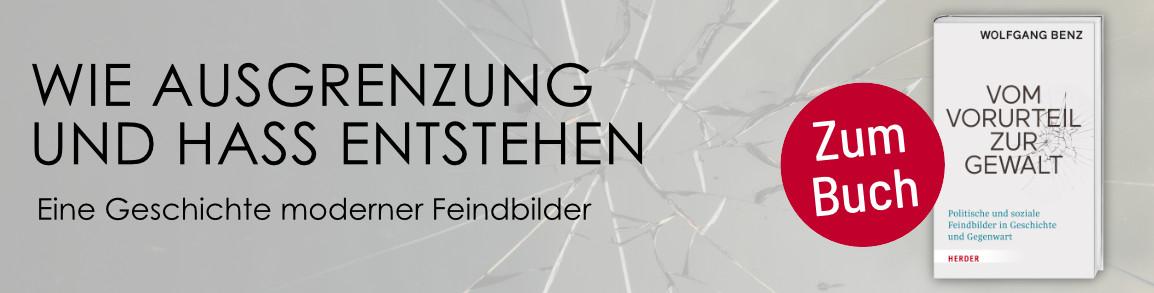 Wolfgang Benz - Vom Vorurteil zur Gewalt