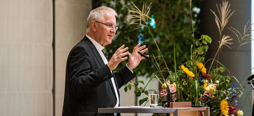 Heinrich Timmerevers, der Bischof des Bistums Dresden-Meißen