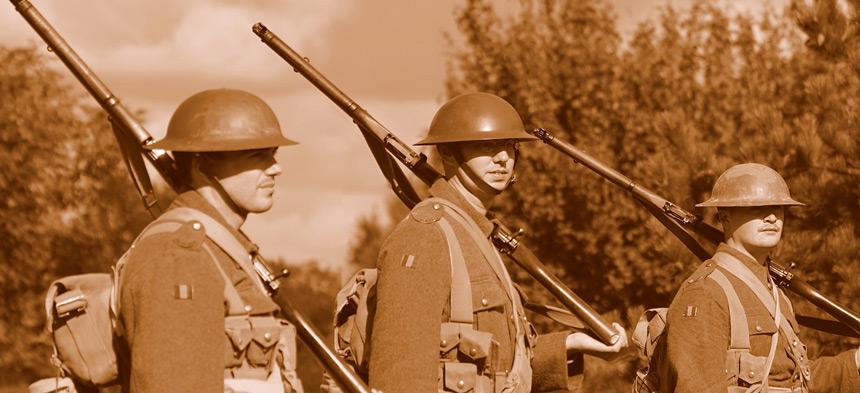 Der Beginn des 1. Weltkriegs