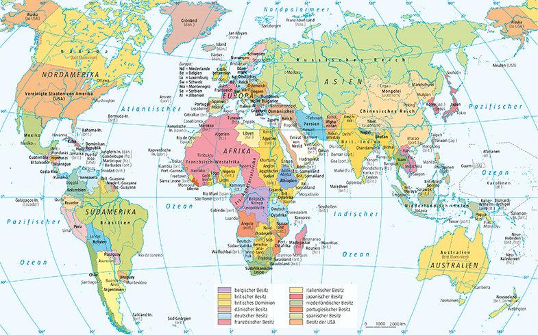 DIe Welt 1914