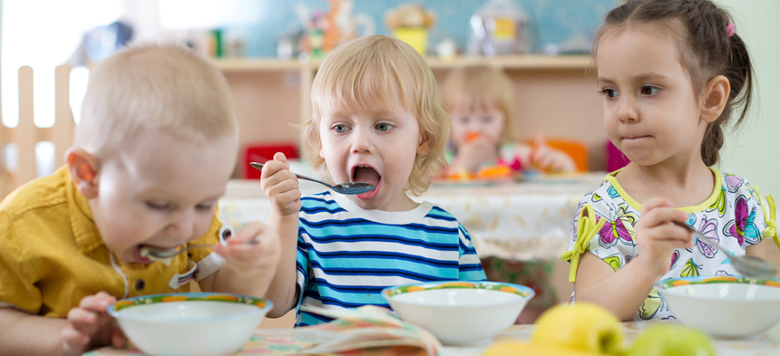 Mahlzeiten in der Kita