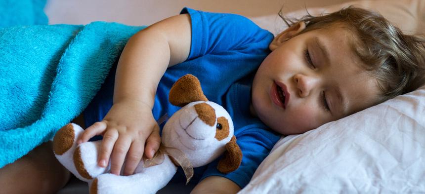 Schlafen im Kindergarten