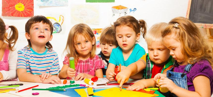 Willkommen im Kindergarten