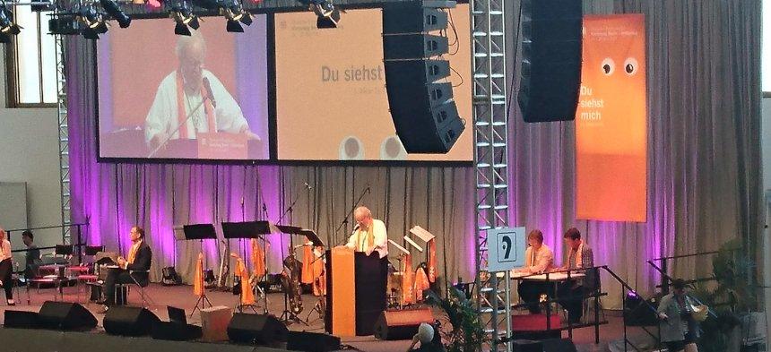 Veranstaltung auf dem Kirchentag 2017 in Berlin