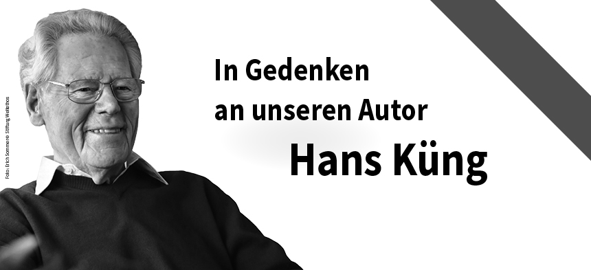 Der Tübinger Theologe Hans Küng ist tot