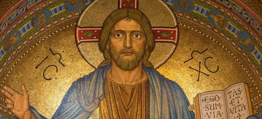 Jesus Christus als Pantokrator