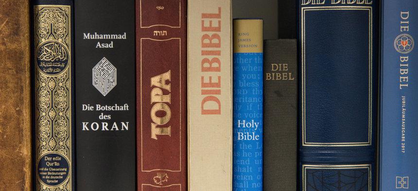 Koran, Thora und Bibel