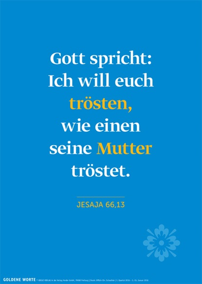 Goldene Worte. Plakate mit Bibelworten, 2016, Plakat 1