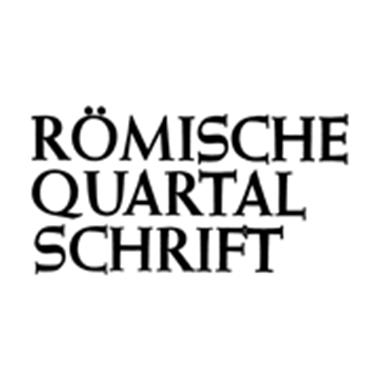 Römische Quartalschrift. Für christliche Altertumskunde und Kirchengeschichte