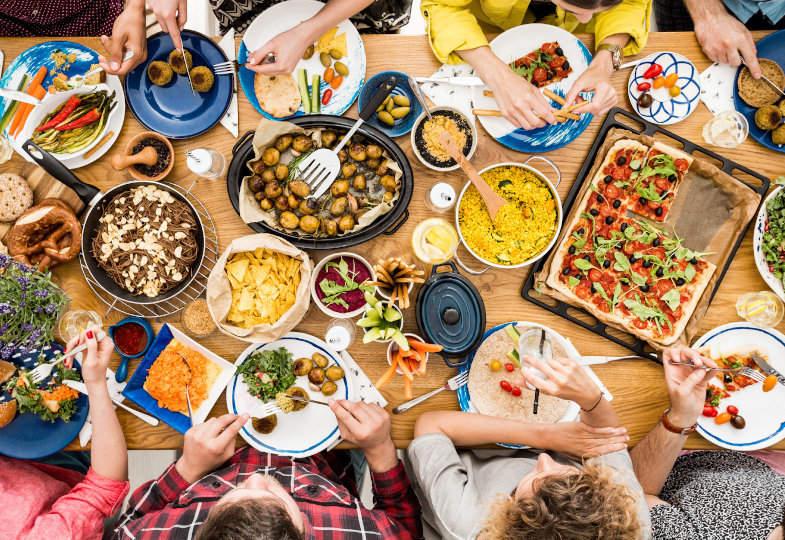 Gastgeber und Gäste können Freunde werden