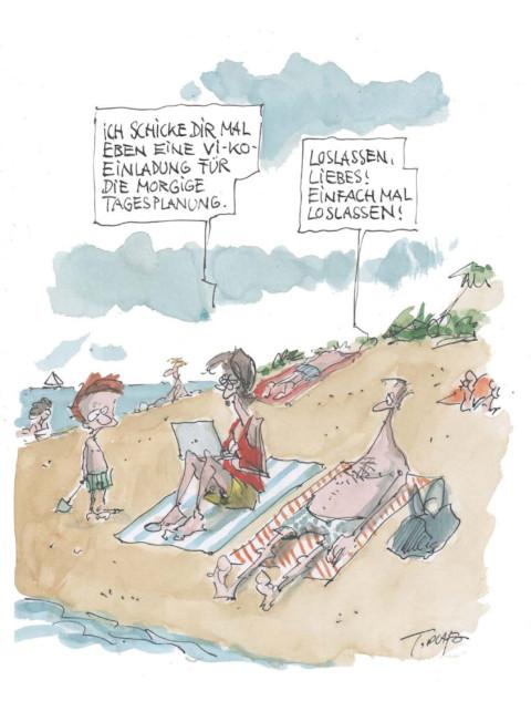 Anzeiger für die Seelsorge: Cartoon