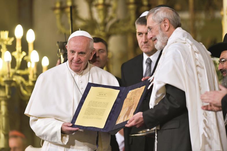 Papst und Judentum
