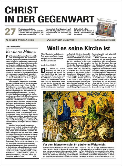 Christ in der Gegenwart 27/2019