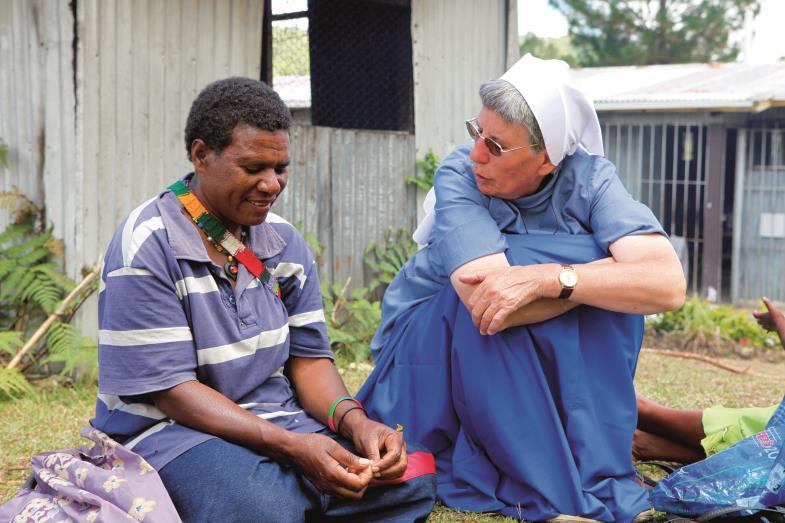 Sr. Lorena Jenal, Papua-Neuguinea