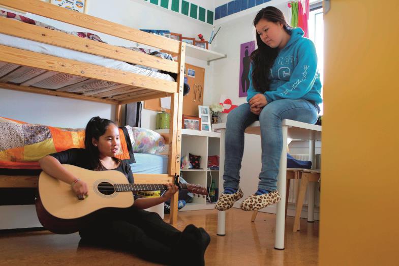 Hort der Geborgenheit: Im nördlichsten Kinderheim der Welt auf Grönland können die jungen Leute ihre schlimme Vergangenheit hinter sich lassen.