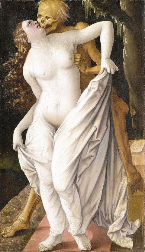 """Und das Ende ... """"Der Tod und die Frau"""", um 1520/25"""