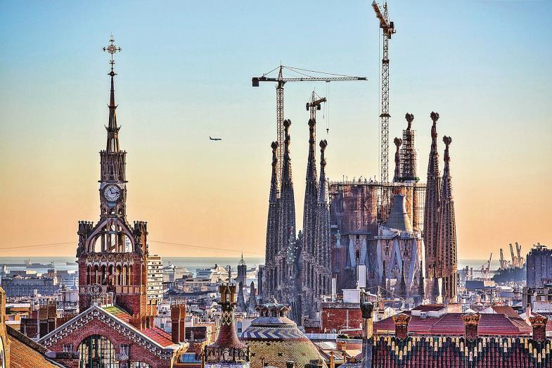 Ohne Kräne hat die Sagrada Familia noch keiner gesehen. Nach mehr als 140 Jahren könnte Barcelonas berühmtester Bau nun aber bald vollendet sein.