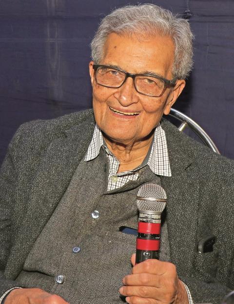 Amartya Sen, Indien