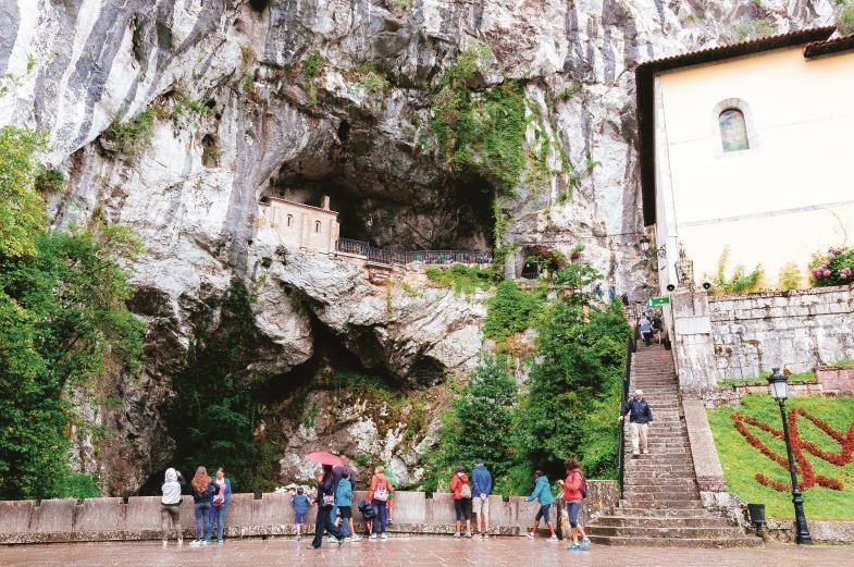 Nationaler Wallfahrtsort: Mit dem Sieg über die Mauren bei Covadonga leitete der westgotisch-asturische Fürst Pelayo die Rückeroberung Spaniens ein.