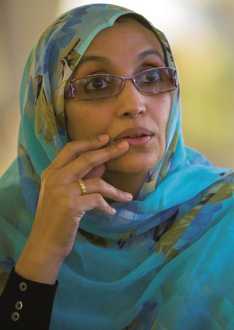 Aminatou Haidar, Westsahara